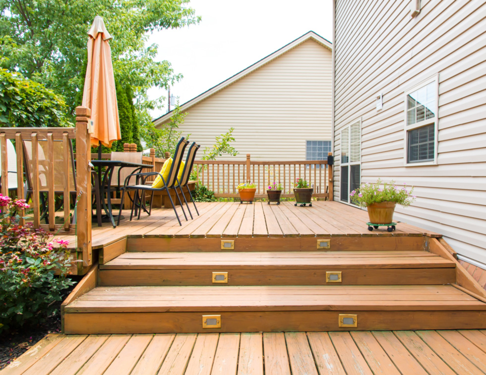 Multi-Layer deck for your home deck project.